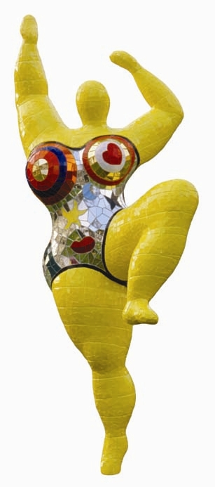 Niki de saint phalle her life broad strokes the national museum of women - Nana de niki de saint phalle ...