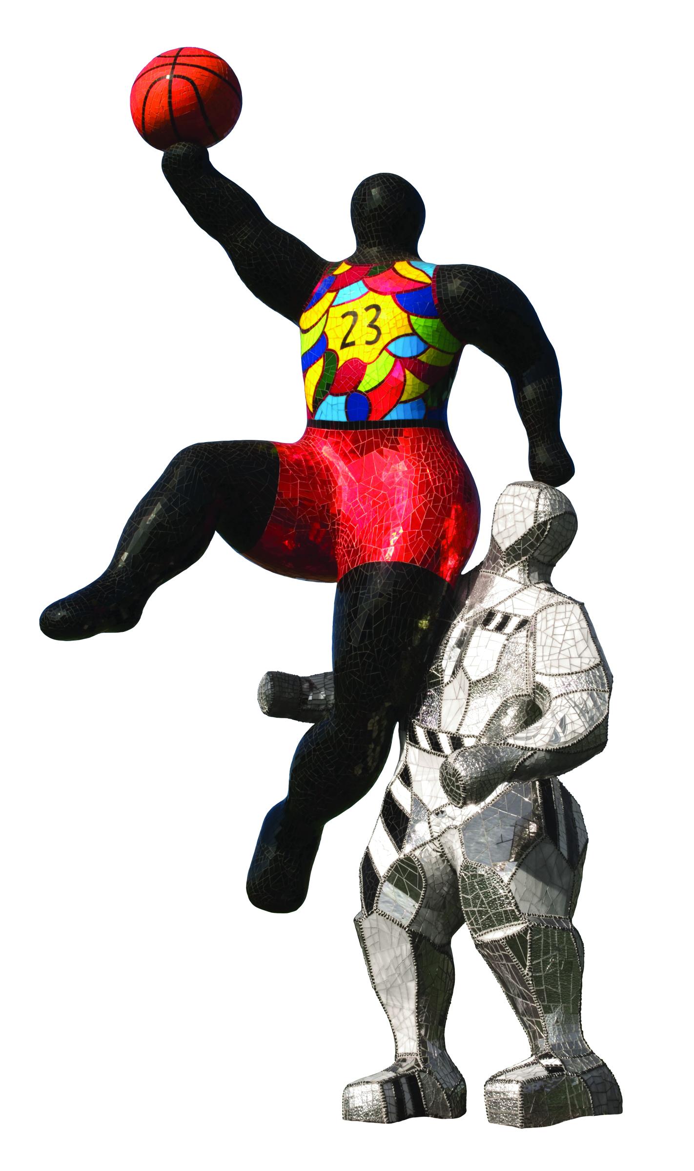 black heroes  niki de saint phalle u0026 39 s homage to prominent