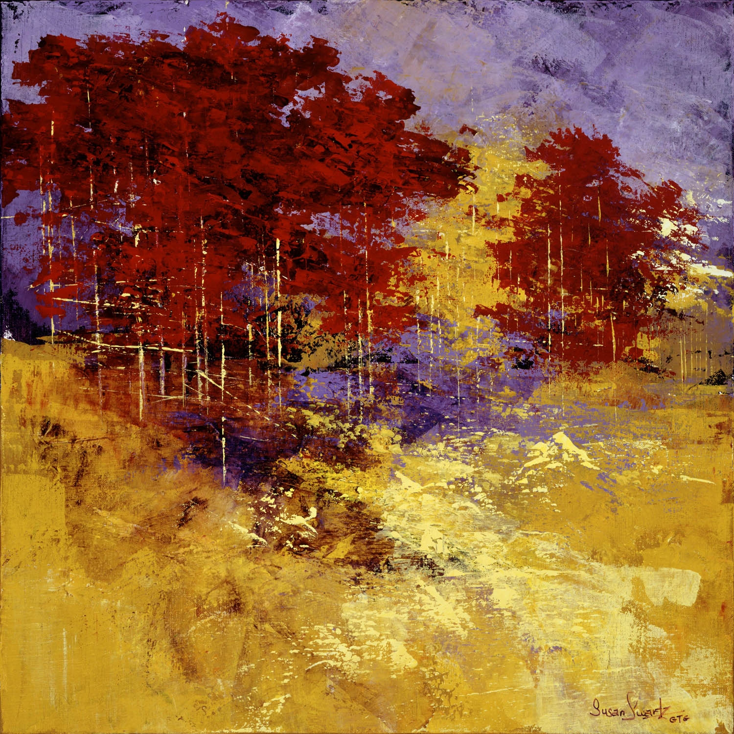 Image of Susan Swartz's painting Autumn Song