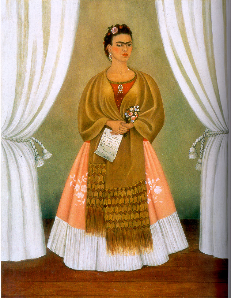 "Frida Kahlo, ""Self-Portrait Dedicated to Leon Trotsky"""