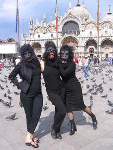 Guerrilla Girls in Venice