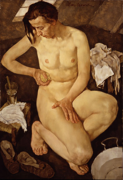 Lotte Laserstein, Morning Toilette, 1930; NMWA Collection, Gift of the Board of Directors