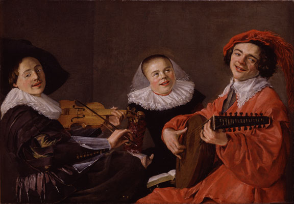 Judith Leyster, The Concert, ca. 1633; Gift of Wallace and Wilhelmina Holladay