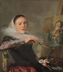 Judith Leyster, Self-portrait, ca. 1630