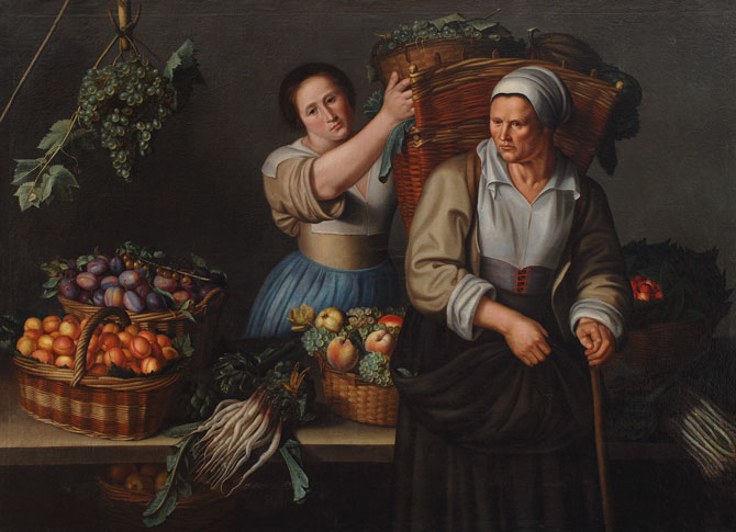 Louise Moillon, A Market Stall, ca. 1630; NMWA Collection; Gift of Wallace and Wilhelmina Holladay