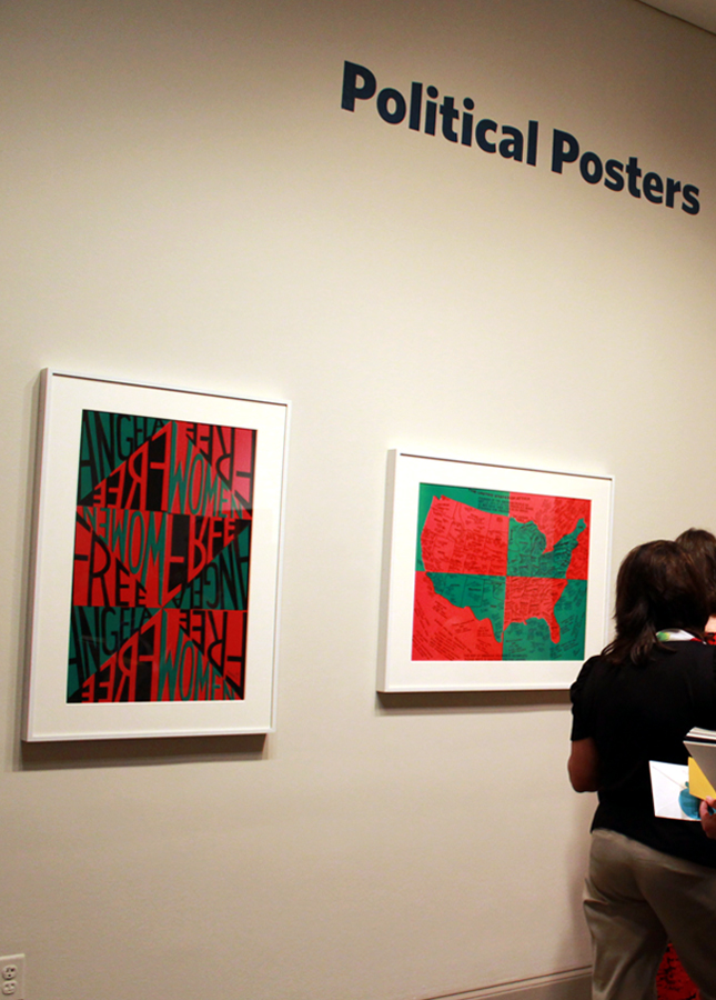 Political Posters by Faith Ringgold