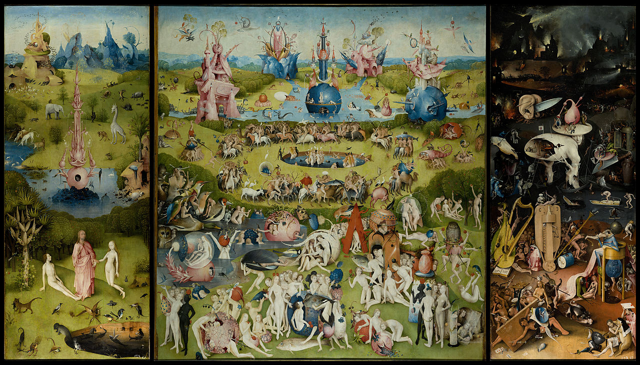 Hieronymus Bosch, The Garden of Earthly Delights, 1503–04