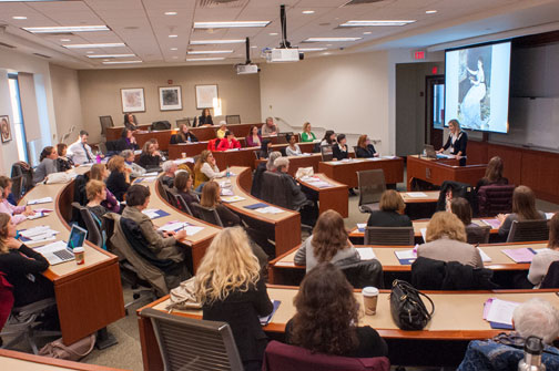 Packed house at the 2012 Feminist Art History Conference; Photo courtesy of American University