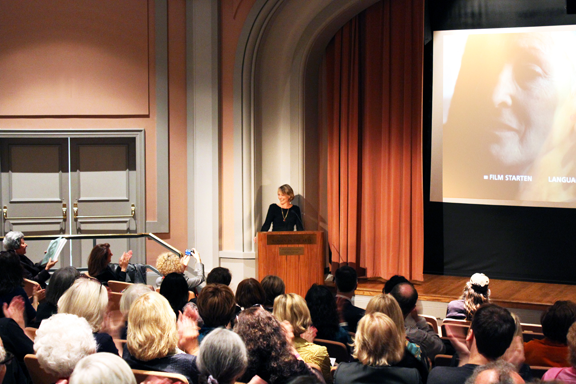 Following a presentation of the documentary Meret Oppenheim: A Surrealist on Her Own Terms, at NMWA on April 24, Lisa Wenger spoke about her aunt Meret Oppenheim
