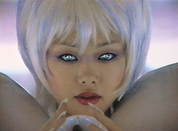 Mariko Mori, Miko no Inori, 1996; Color video and sound; Collection of Pérez Art Museum Miami, Courtesy of Dennis and Debra Scholl