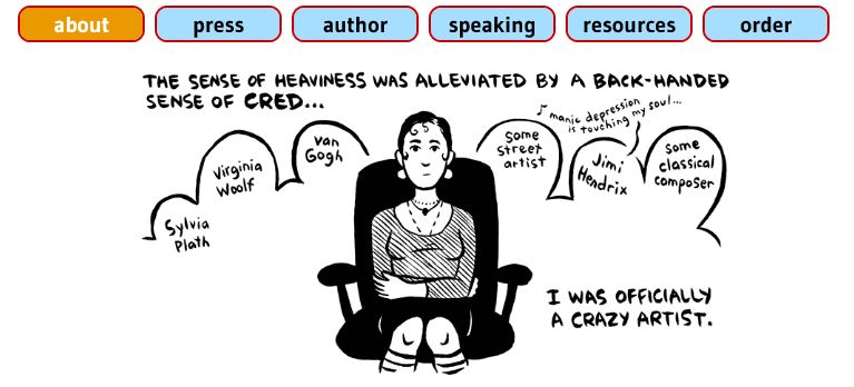Ellen Forney's website