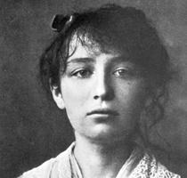 Photograph of Camille Claudel, 1884, by César. Courtesy of Bibliothèque Marguerite Durand, Mairie de Paris, Paris, France