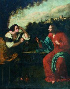 Artemisia Gentileschi, Christ and the Samaritan Woman, 1637