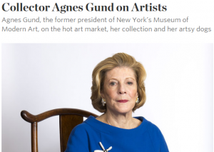 2015-07-16 15_38_15-Collector Agnes Gund on Artists - WSJ