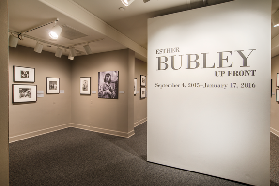 Installation view of Esther Bubley Up Front; Photo: Lee Stalsworth