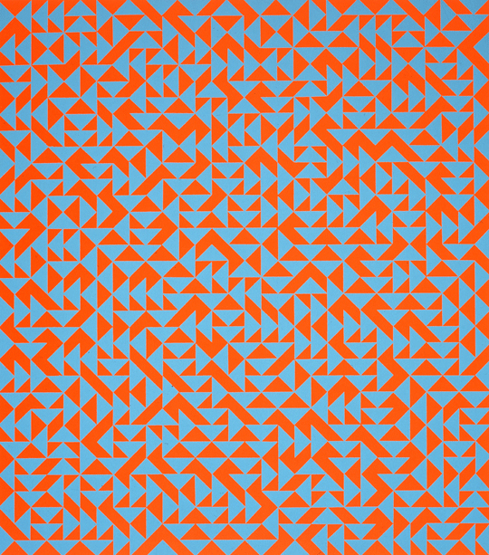 Anni Albers, Untitled, 1969; Serigraph on paper; Gift of Wallace and Wilhelmina Holladay, NMWA
