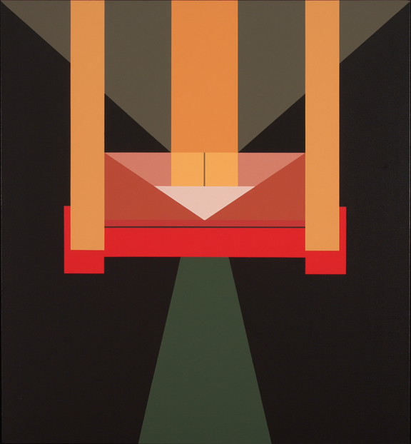 Fanny Sanín, Acrylic No. 7, 1995; Acrylic on canvas, 52 in. x 48 in.; Gift of the artist, NMWA