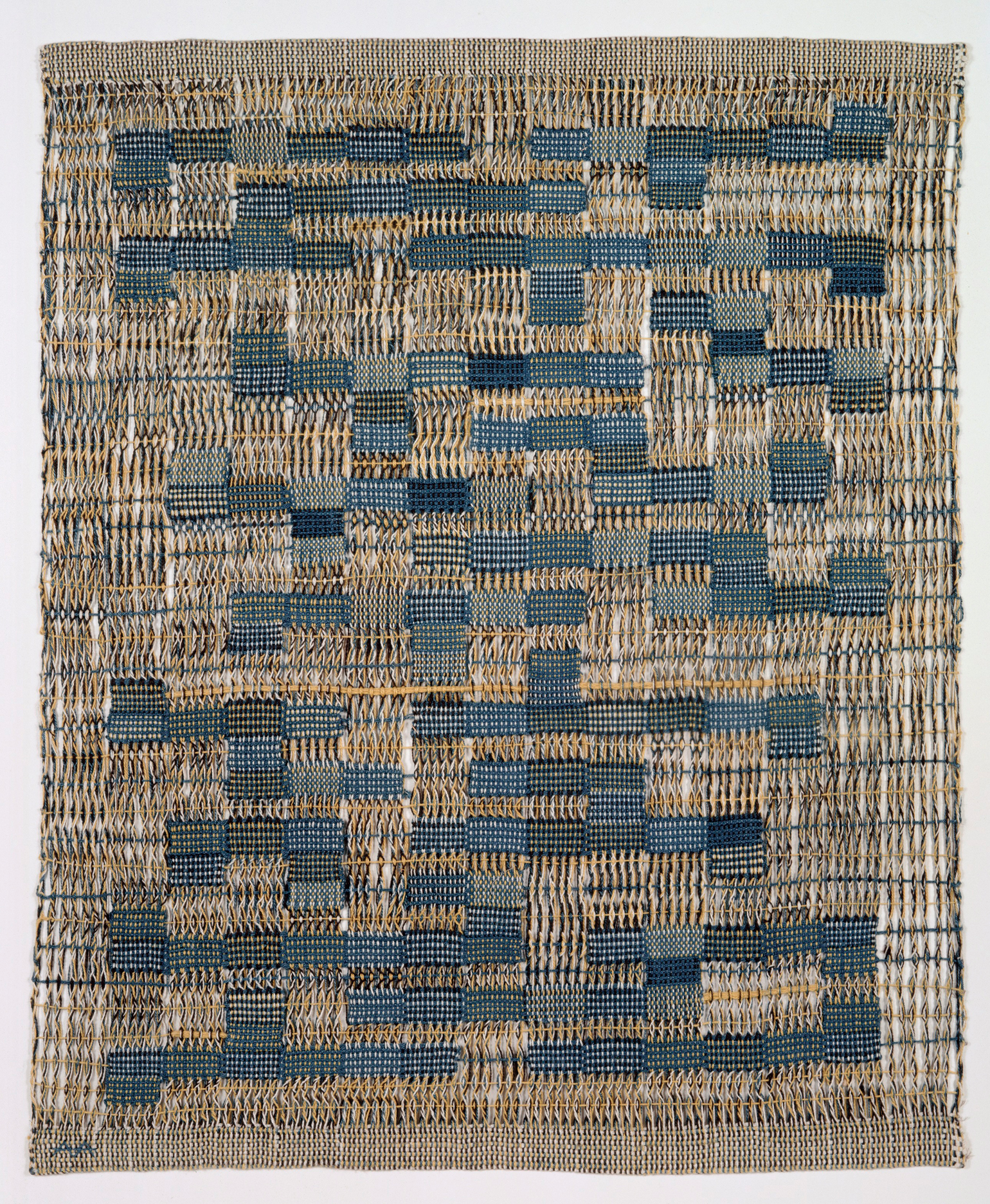 Anni Albers, Tikal, 1958; Cotton, 30 x 23 in.; Museum of Arts and Design; Gift of the Johnson Wax Company, through the American Craft Council, 1979; Photo by Eva Heyd