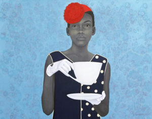 Outwin Boochever Portrait Competition winner Amy Sherald in Baltimore magazine