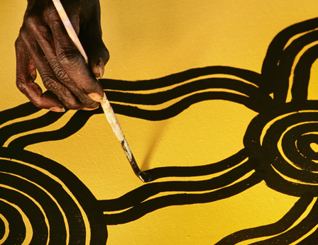 The Guardian discusses Australian Aboriginal art