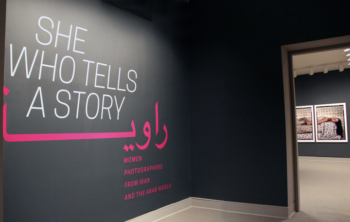 The exhibition She Who Tells a Story at NMWA