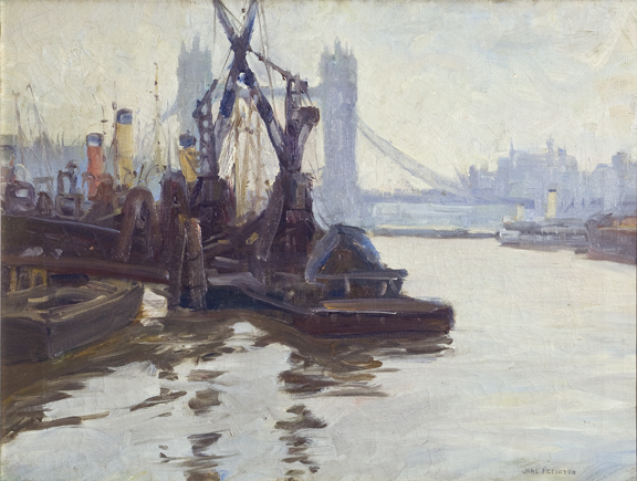 Jane Peterson, Tower Bridge, ca. 1907; NMWA, Gift of Alice D. Kaplan