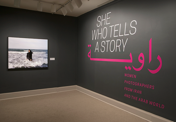 She Who Tells a Story on view at NMWA, Photo: Lee Stalsworth