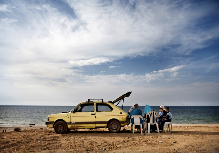 """Tanya Habjouqa, Untitled, from the series """"Women of Gaza,"""" 2009; Pigment print, 20 x 30 in.;Museum of Fine Arts, Boston; Museum purchase with general funds and the Horace W. Goldsmith Fund for Photography, 2013.567; Photo © 2015 MFA, Boston"""