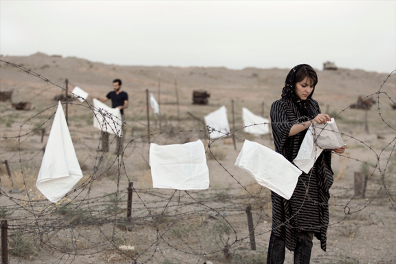 "Gohar Dashti, Untitled #2, from the series ""Today's Life and War,"" 2008; Chromogenic print, 27 5/8 x 41 3/8 in.; Museum of Fine Arts, Boston, Museum purchase with funds donated by the Weintz Family Harbor Lights Foundation, 2013.555; © Gohar Dashti"