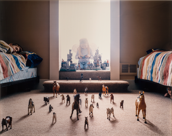 Angela Strassheim, Untitled (Horses), 2004; Edition 1/8, Chromogenic color print, 30 x 40 in.; NMWA, Gift of Heather and Tony Podesta Collection, Washington, DC