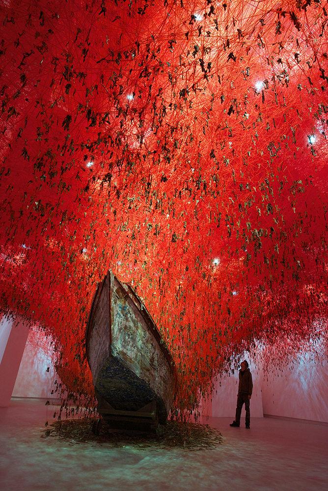 Juxtapoz explores Chiharu Shiota's work