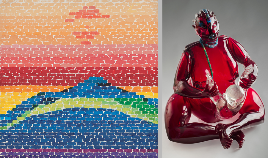 ARTnews shares thoughts on Alma Thomas's work (left) and Hyperallergic discusses Joyce C. Scott's art (right)