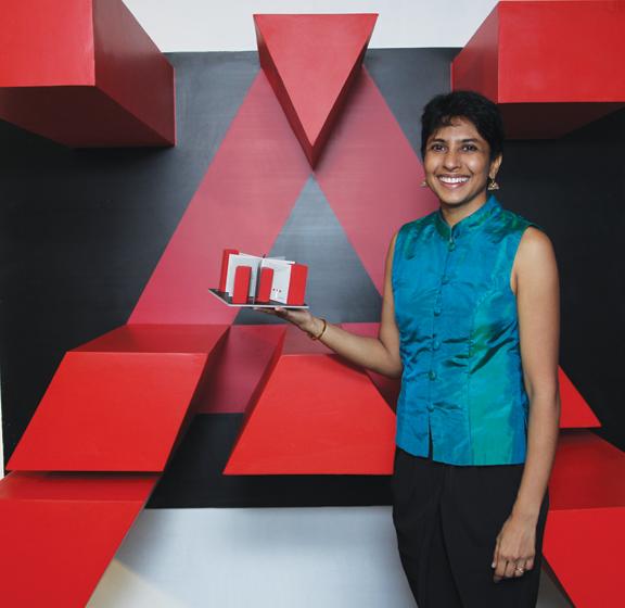 Book artist Priya Pereira