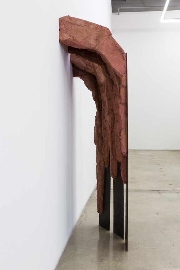 Cristina Iglesias, Untitled, L-4, 1986; Iron and concrete; Rubell Family Collection, Miami