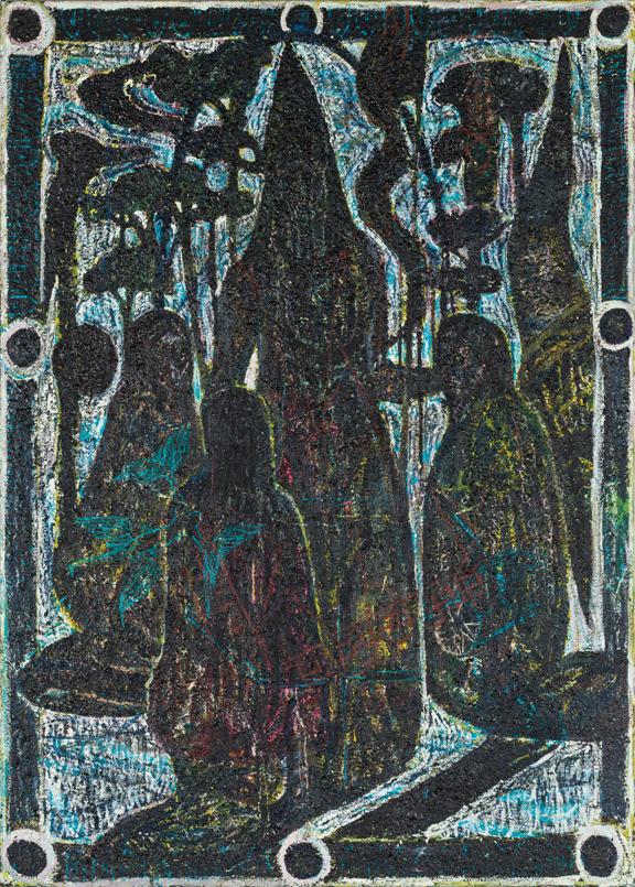 Natasja Kensmil, Desperate Land, 2004; Oil on linen; Rubell Family Collection, Miami