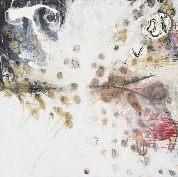 Suzanne McClelland, Forever, 1991; Acrylic, gesso, and charcoal on canvas; Rubell Family Collection, Miami