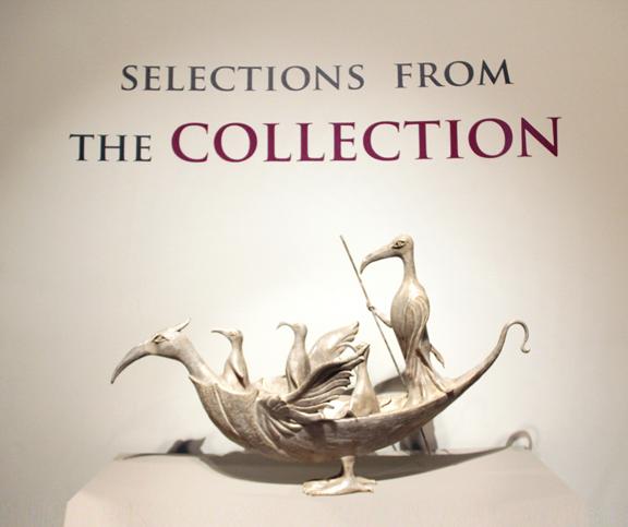 Leonora Carrington, The Ship of Cranes, 2010; Bronze, 26 x 14 x 42 1/2 in.; NMWA, Gift of Paul Weisz-Carrington, M.D.