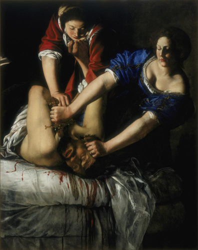 The Guardian discusses Artemisia Gentileschi's life and art