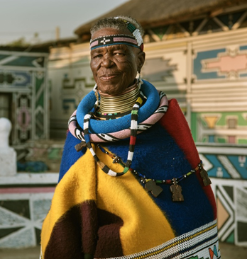 Artsy profiles Esther Mahlangu