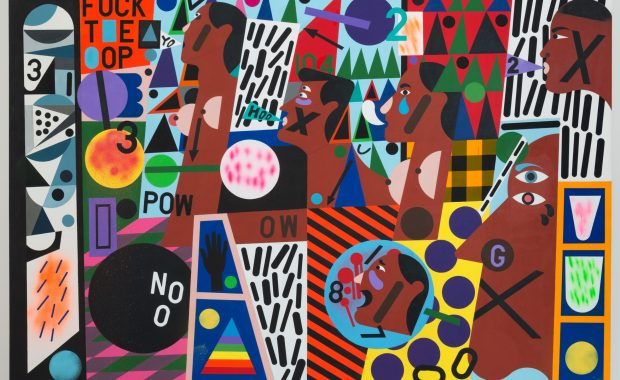 Nina Chanel Abney: Royal Flush at the Nasher Museum of Art at Duke University