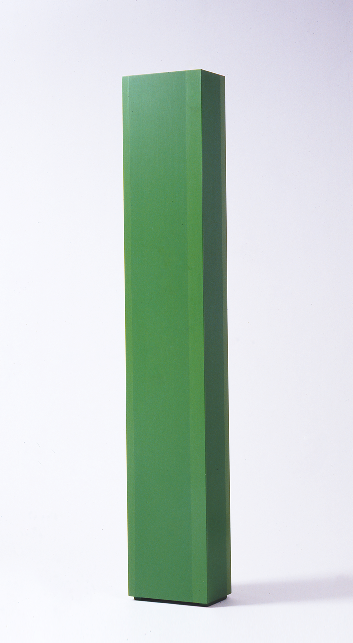 Anne Truitt, Summer Dryad, 1971; Acrylic on wood; 76 x 13 x 8 inches; National Museum of Women in the Arts, Gift of the Holladay Foundation; © Anne Truitt