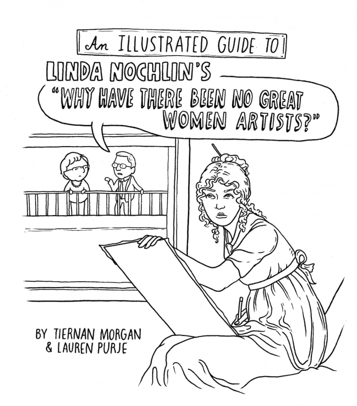 Hyperallergic's illustrated guide to Linda Nochlin's 1971 essay