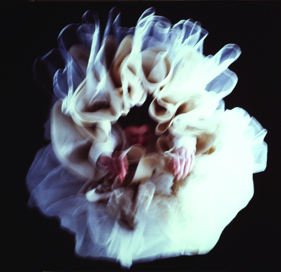 Charlotte Gyllenhammar, Fall III, 1999; Cibachrome print mounted on aluminum, 38 x 39 in.; National Museum of Women in the Arts, Gift of The Heather and Tony Podesta Collection; © Charlotte Gyllenhammar