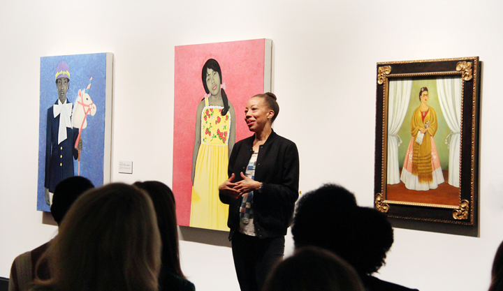 Amy Sherald at NMWA