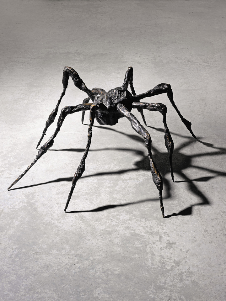 Louise Bourgeois, Spider III, 1995; Bronze, 19 x 33 x 33 in.; National Museum of Women in the Arts, Gift of Wilhelmina Cole Holladay; Art © The Easton Foundation/Licensed by VAGA, New York, NY