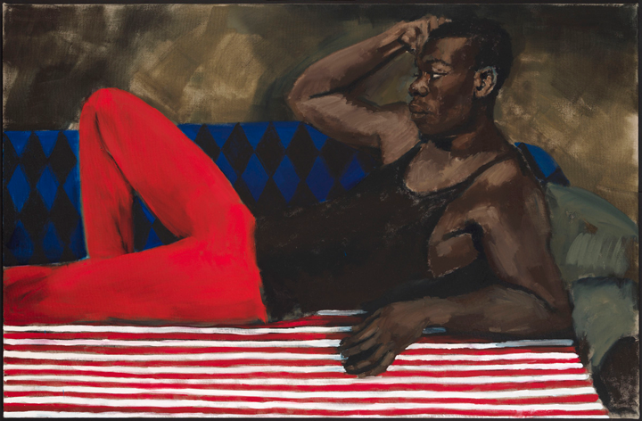 Lynette Yiadom-Boakye: Under-Song For A Cipher, on view at the New Museum