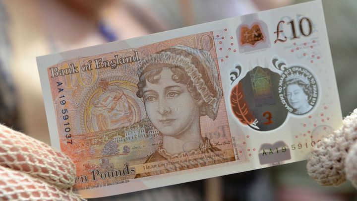 The Guardian reports on the new 10 note featuring Jane Austen