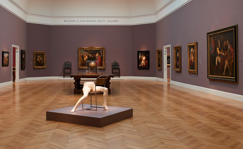 Sarah Lucas responds to Auguste Rodin