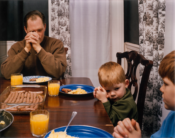 Angela Strassheim, Untitled (Prayer), 2005; Chromogenic color print, 30 x 40 in.; National Museum of Women in the Arts, Gift of The Heather and Tony Podesta Collection; © Angela Strassheim