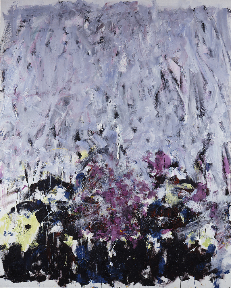Joan Mitchell, Sale Neige, 1980; Oil on canvas, 86 1/4 x 70 7/8 in.; National Museum of Women in the Arts, Gift of Wallace and Wilhelmina Holladay; © Estate of Joan Mitchell